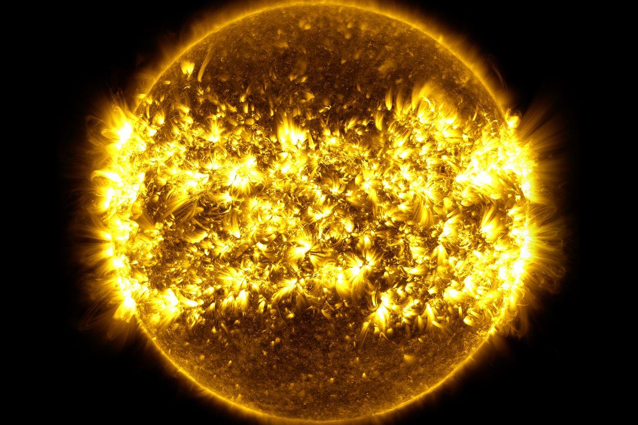 Stare straight at NASA's year-long time lapse of the sun