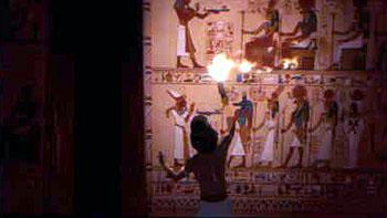 Moses ( Val Kilmer ) seeks to discover the truth about his heritage in The Prince Of Egypt
