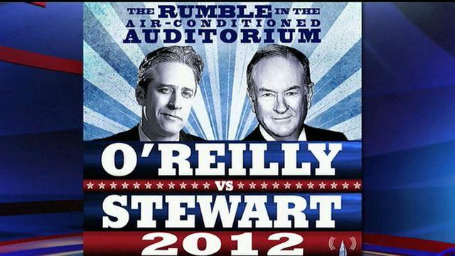 O'Reilly to debate Jon Stewart