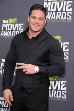 Ronnie Ortiz-Magro arrives at the 2013 MTV Movie Awards at Sony Pictures Studios on April 14, 2013 in Culver City, Calif. -- Getty Premium