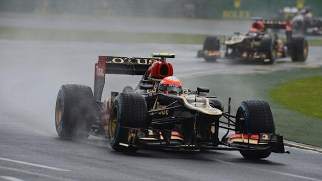 Lotus driver Romain Grosjean (AFP)