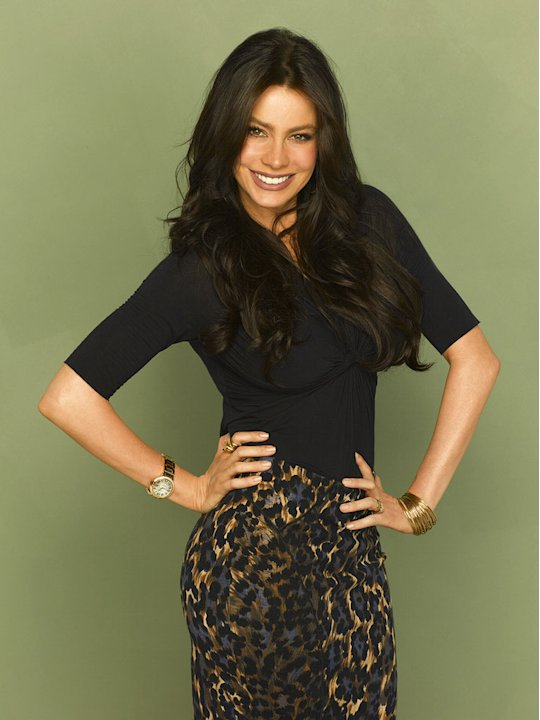 "Sofia Vergara in the ABC series ""Modern Family"""