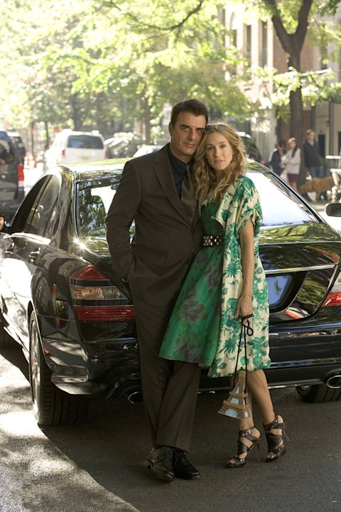 Sex and the City 2008 New Line Cinema Chris Noth Sarah Jessica Parker