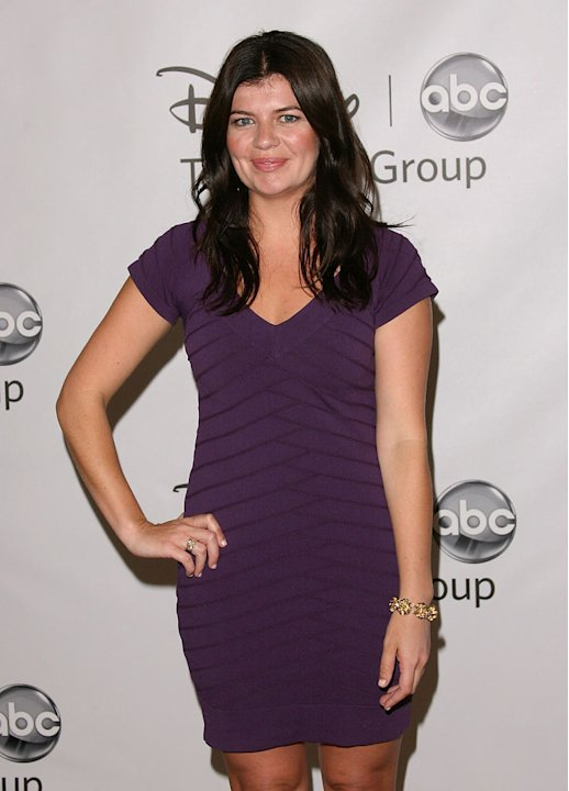 "Casey Wilson of ""Happy Endings"" attends the Disney ABC Televison Group's 'TCA 2001 Summer Press Tour' at the Beverly Hilton Hotel on August 7, 2011 in Beverly Hills, California."