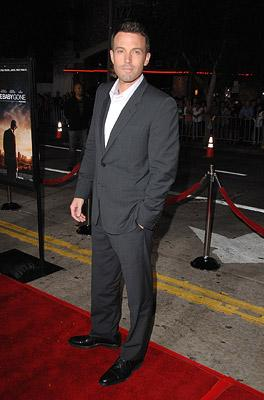 Director Ben Affleck at the Westwood premiere of Miramax Films' Gone Baby Gone