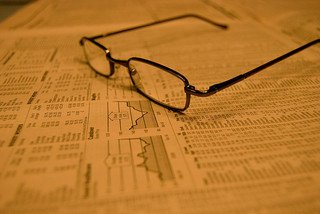 glasses on stocks page