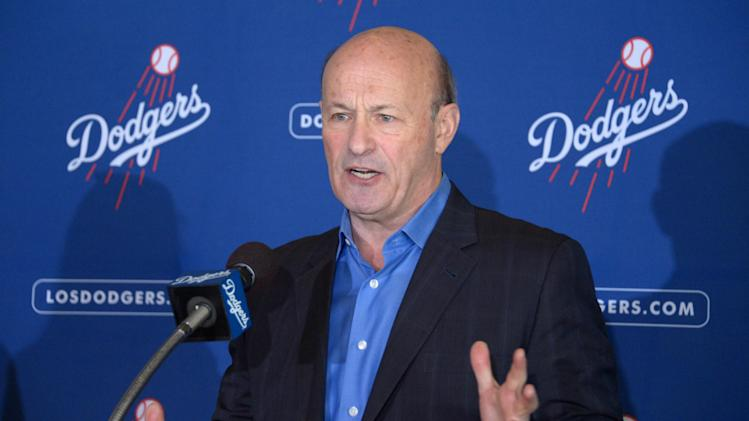 MLB: Los Angeles Dodgers-Press Conference