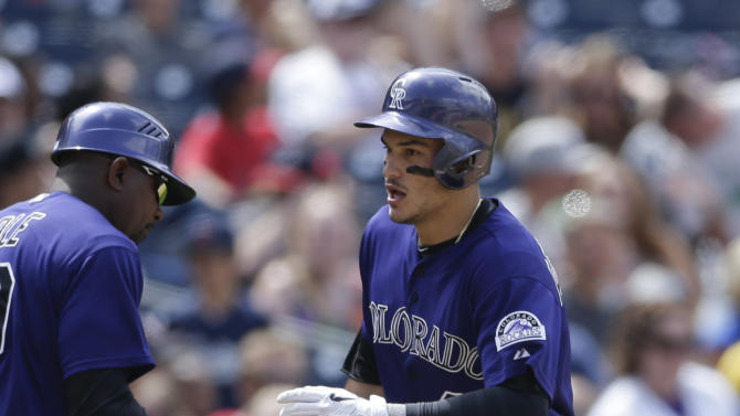 Gyorko's long homer helps Padres to 8-6 win over Rockies