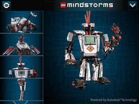 Autodesk Provides First Ever 3D Building Instructions for LEGO MINDSTORMS