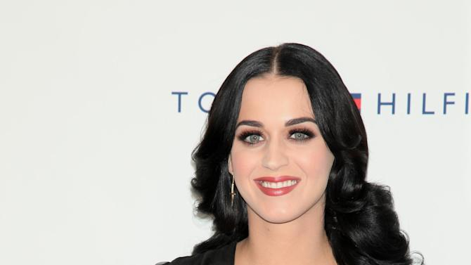 This Oct. 13, 2012 photo released by Starpix shows Katy Perry arriving at Comedy Central's Night Of Too Many Stars: America Comes Together For Autism Programs at The Beacon Theatre in New York. The fourth Night of Too Many Stars, which uses comedy to raise money for autism education programs, will air Sunday 8 p.m. EDT on Comedy Central. (AP Photo/Starpix, Andrew Toth)