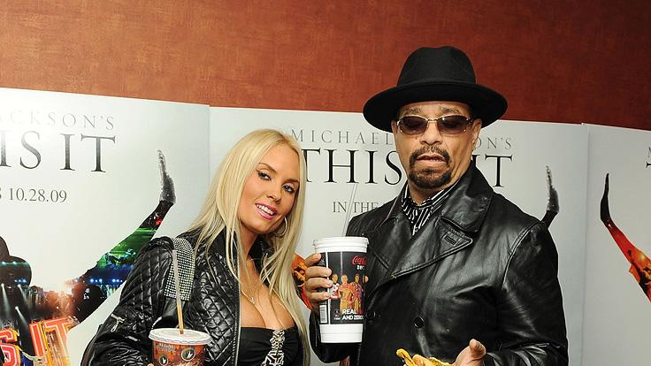 Michael Jackson's This is it New York Premiere 2009 Coco Ice-T