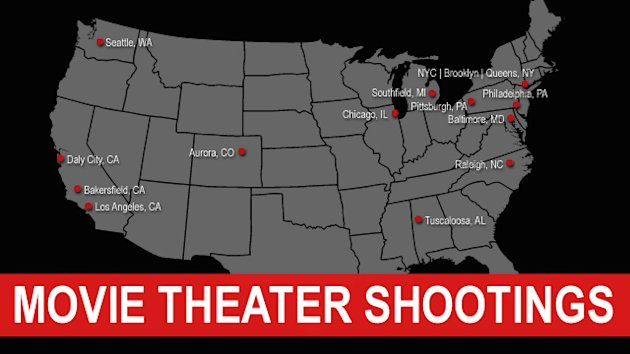 Colorado Shooting Recalls History of Theater Violence (ABC News)