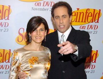 Jerry Seinfeld and wife Jessica