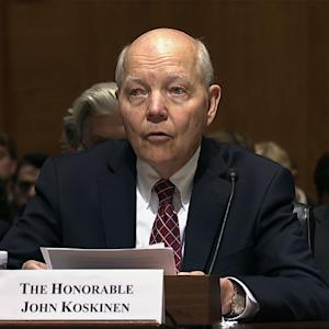 IRS Commissioner Talks Security Flaws on Hill