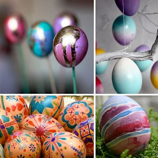 10 Egg-citing Ways to Decorate Easter Eggs