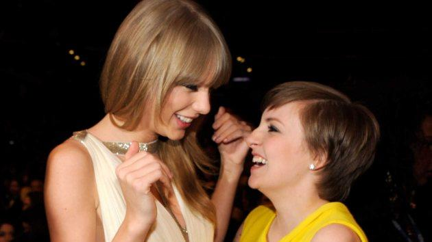 Taylor Swift, Lena Dunham -- Getty Images