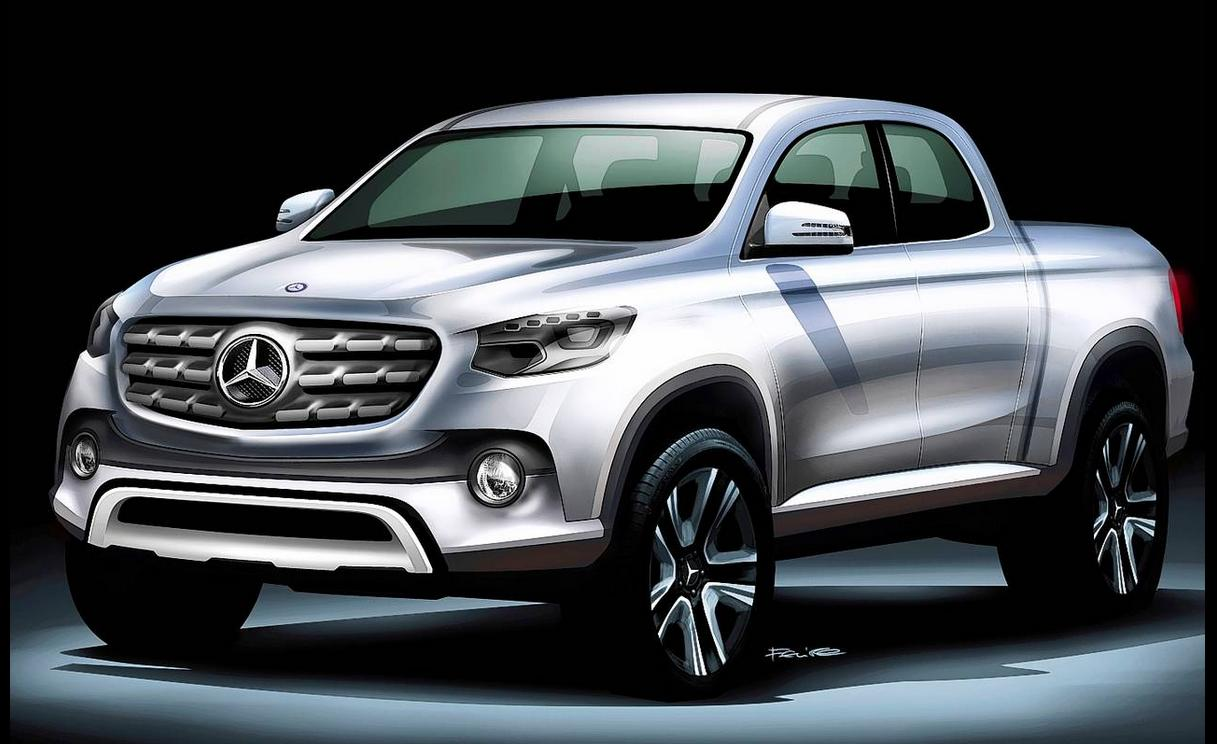 Behold! The Mercedes-Benz pickup truck!