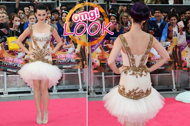 Katy Perry: Sie tänzelte als Glamour-Ballerina durch London (Bilder: Getty Images)