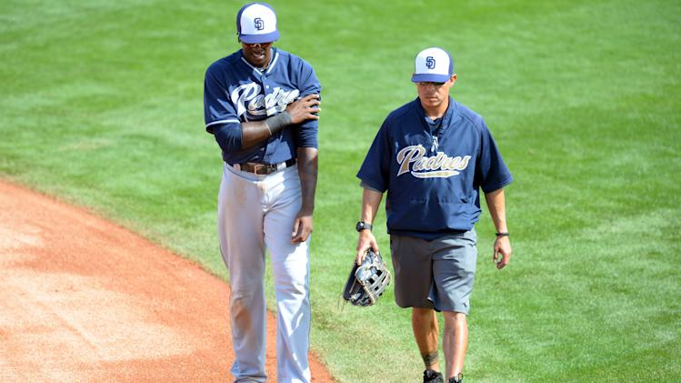 MLB: Spring Training-San Diego Padres at Los Angeles Dodgers