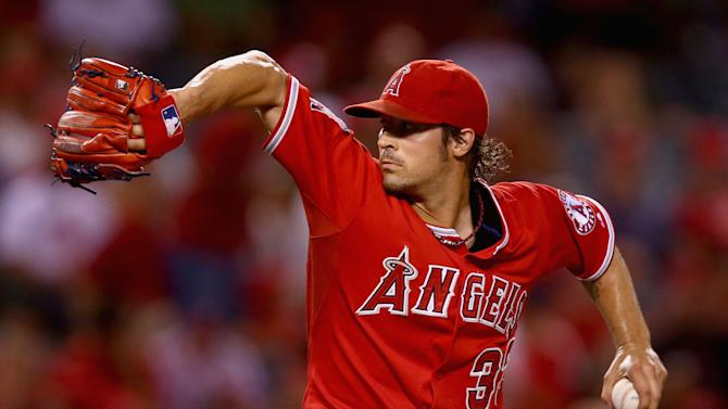 Baseball - Angels clinch AL West division title