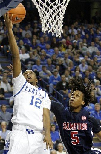 Kentucky runs away from Samford 88-56