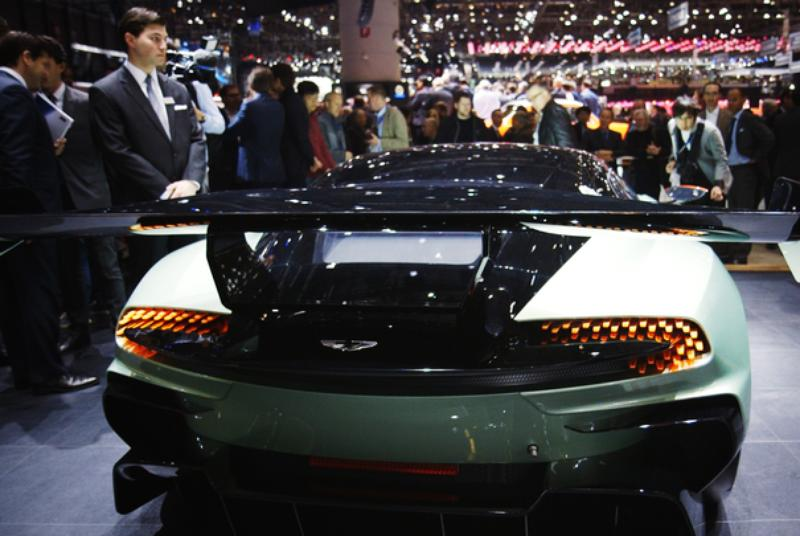 First look at the Aston Martin Vulcan & DBX at the 2015 Geneva Motor Show