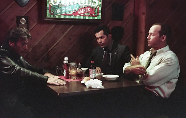John Leguizamo Donnie Wahlberg Al Pacino Righteous Kill Production Stills Overture 2008