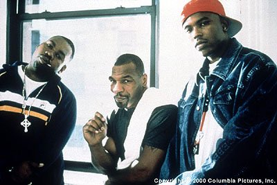 Raekwon , Mike Tyson and Power in Screen Gems' Black And White