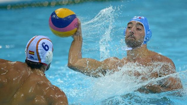 London 2012 Water Polo Italy-Spain Felugo