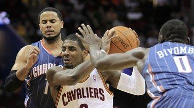 Irving, Thompson lead Cavaliers past Bobcats
