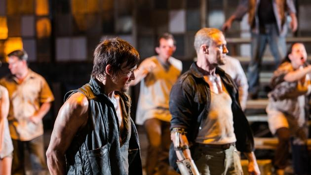 Norman Reedus as Daryl Dixon and Michael Rooker as Merle Dixon in 'The Walking Dead' Season 3 -- AMC