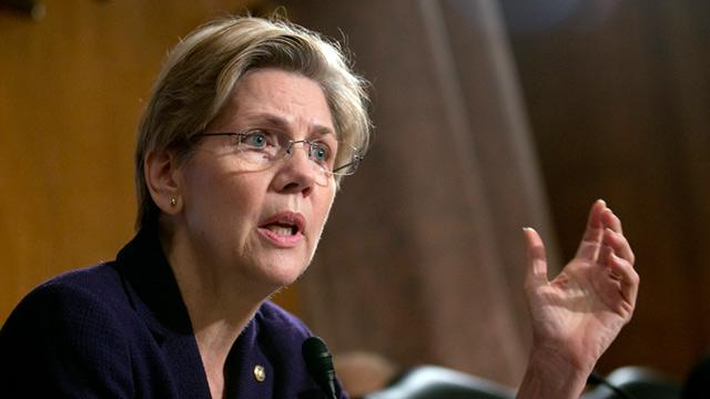 Elizabeth Warren Wants HSBC Bankers Jailed for Money Laundering