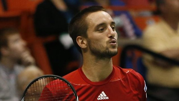 Serbia's Viktor Troicki, who has been banned for 18-months for an anti-doping offence (REUTERS)