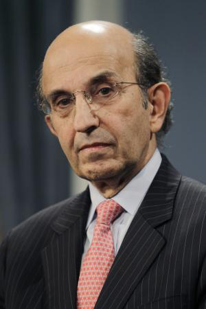 FILE - In this Nov. 9, 2010 file photo, outgoing Chancellor of New York City Public Schools Joel Klein listens during a news conference at City Hall in New York. Klein serves on the News Corporation's board of directors.(AP Photo/Seth Wenig, file)