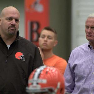Cleveland Browns head coach Mike Pettine mic'd up at training camp
