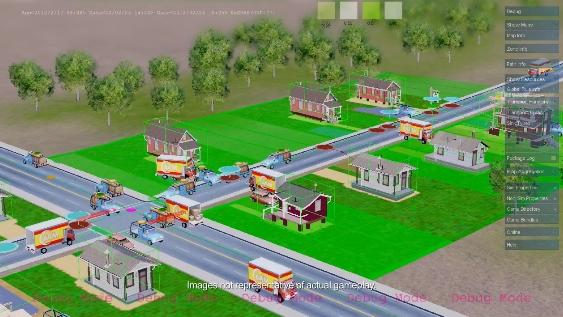 Creating a residential district in 'SimCity'