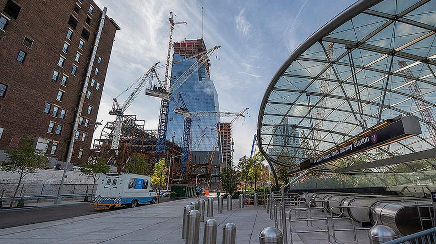 The First Hudson Yards Tower Now Stands At Full Height