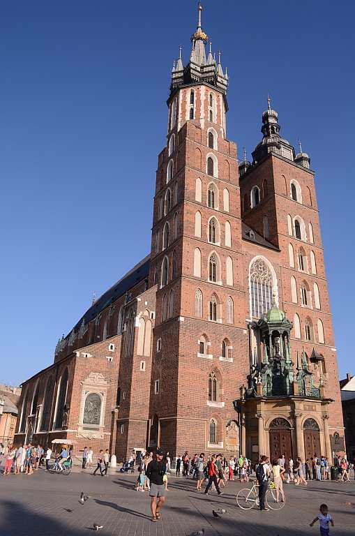 Travel Europe Churches Krakow
