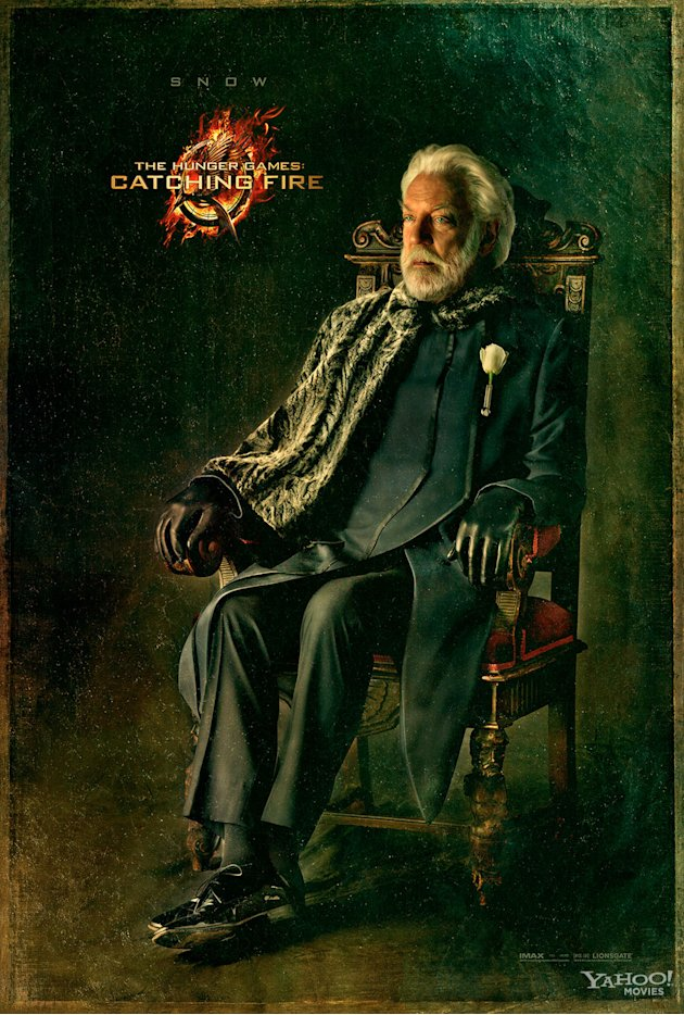 Hunger Games Catching Fire Capitol Portrait President Snow