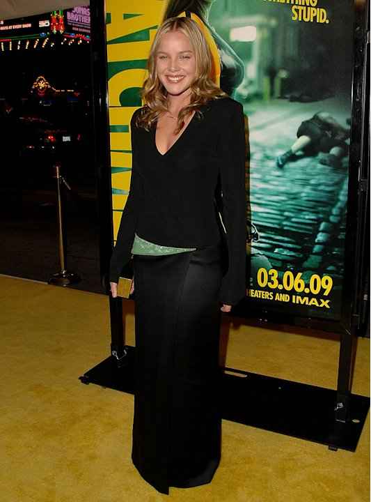 Watchmen LA Premiere 2009 Abbie Cornish