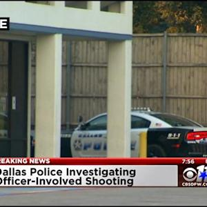 No Injuries After Dallas Officer Opens Fire