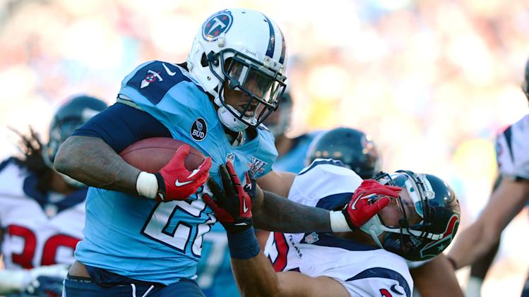 Reports: Tennessee Titans put Chris Johnson on the trade block