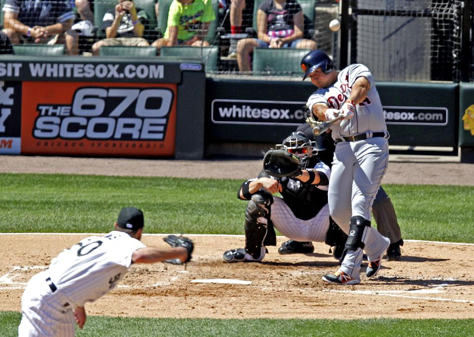 Cabrera hits 3-run HR, Tigers beat White Sox 6-4
