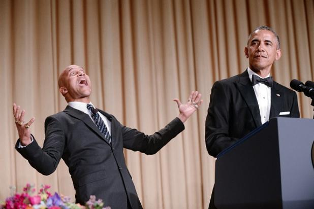 Obama Brings the White House Down With CNN, MSNBC Digs, Surprise 'Key & Peele' 'Anger Translator' at Correspondents' Dinner (Video)