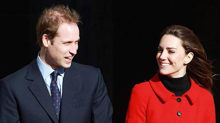 Prince William Kate Middleton University Visit