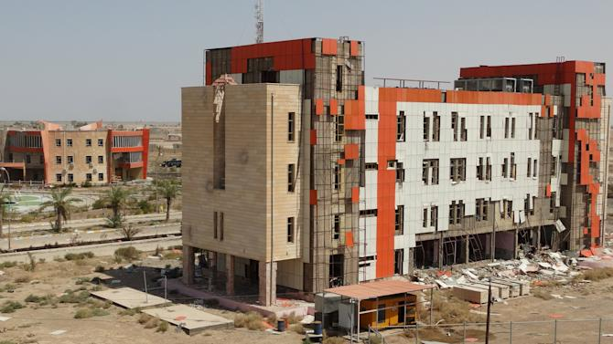 The University of Anbar, is seen in Anbar province
