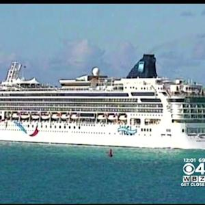 Cruise Ship That Ran Aground Off Bermuda Arrives In Boston