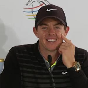 Rory McIlroy's news conference after winning Cadillac Match Play