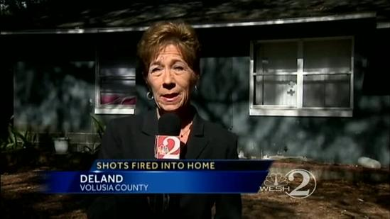DeLand home shot up 9 times on New Year's Eve
