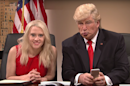 Donald Trump angrily tweeted about the SNL sketch about him tweeting